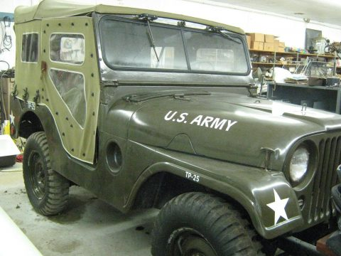 1954 Willy's M38A1 Military Jeep na prodej