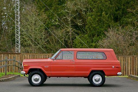 1974 Jeep Cherokee Wagoneer na prodej