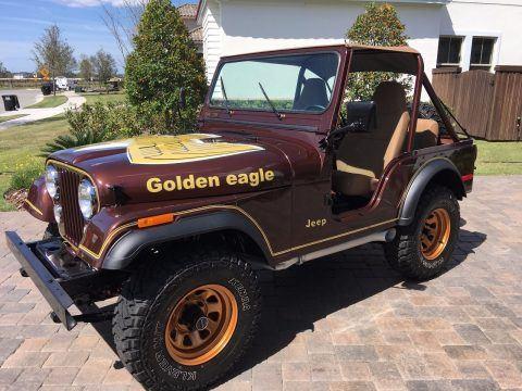 1977 Jeep CJ5 Golden Eagle V8 na prodej