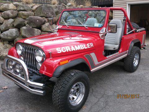 1982 Jeep CJ8 California Arizona SCRAMBLER in NY na prodej