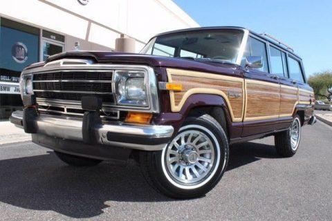 1989 Jeep Grand Wagoneer Limited 4X4 na prodej