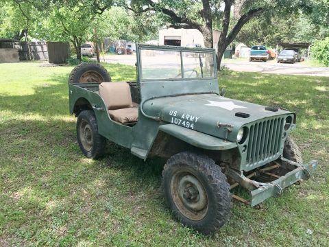 1942 Willys MB na prodej