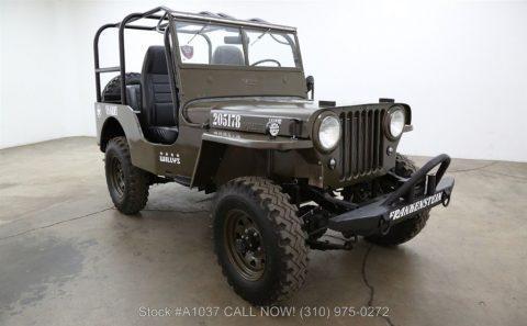 1948 Jeep Willys CJ2A 4×4 na prodej