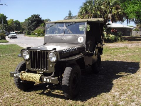 1948 Willys CJ2A Military na prodej