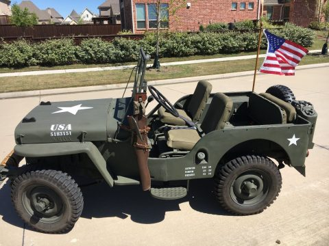 1948 Willys Jeep CJ 2A na prodej