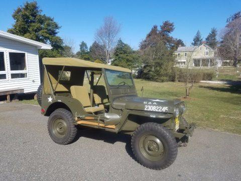 1952 Jeep M38 na prodej
