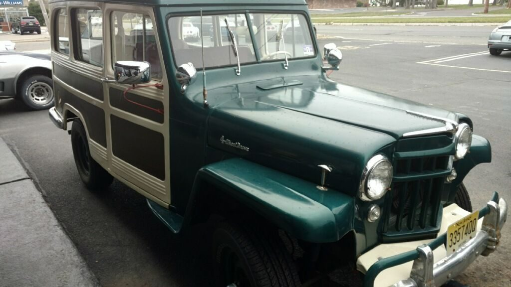1956 Jeep Willys Chevy 350 V8 Crate Motor Na Prodej