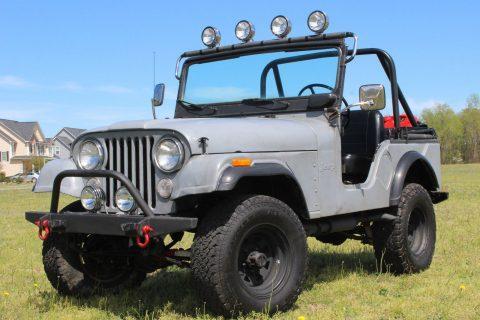 1973 Jeep CJ5 Base 5.0L na prodej