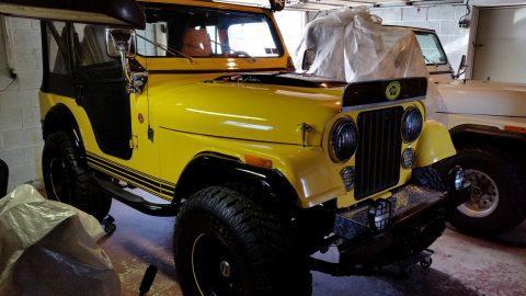 1977 Jeep CJ na prodej