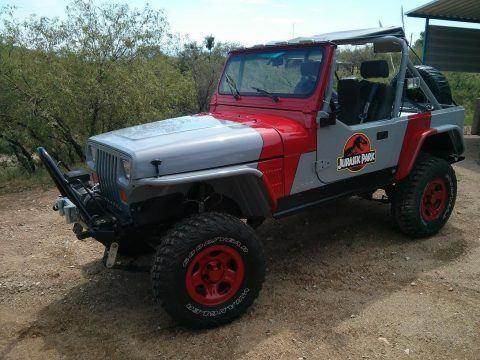 1989 Jeep Wrangler Jurassic Park Edition Rock Crawler YJ na prodej