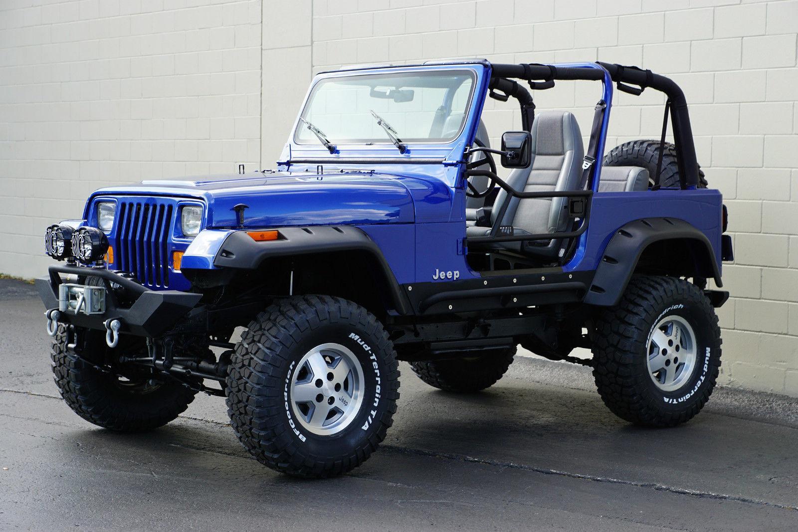 1995 jeep wrangler rio grande sport utility 2 door na prodej. Black Bedroom Furniture Sets. Home Design Ideas