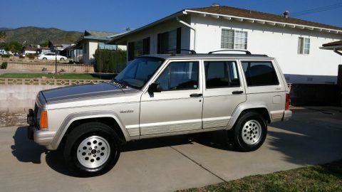 1996 Jeep Cherokee Country Edition 4×4 na prodej
