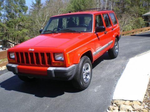 1999 Jeep Cherokee Cherokee SPORT na prodej