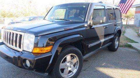 2010 Jeep Commander Black Sweet Rides LLC Greer na prodej