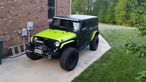 2014 Jeep Wrangler unlimited na prodej
