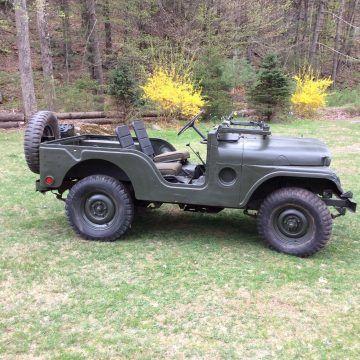 1952 Willys Army Jeep M38A1 na prodej