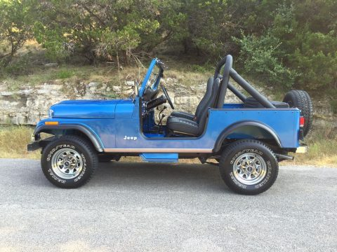 1984 Jeep CJ Special Value Package na prodej