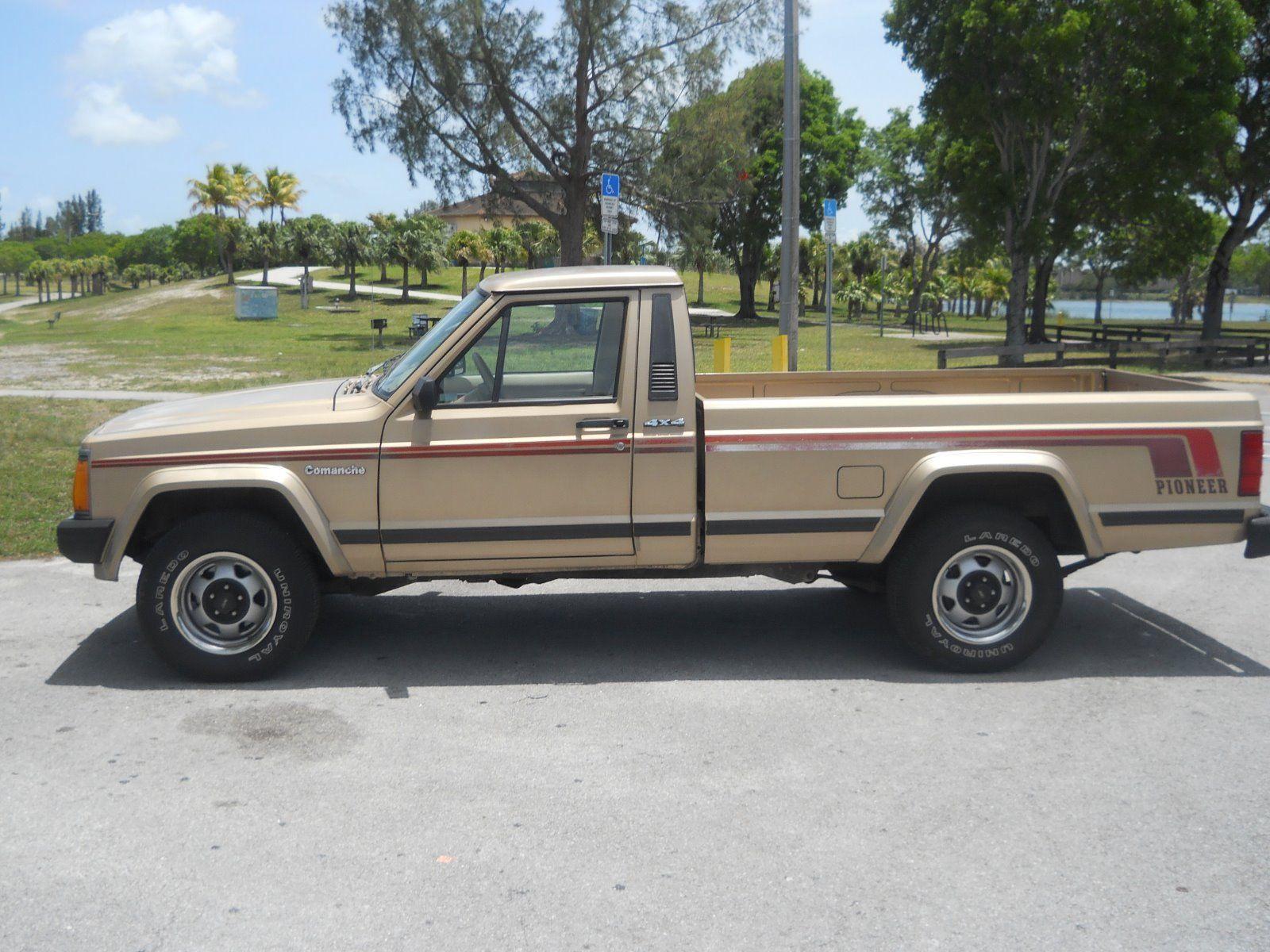 1989 Jeep Comanche Pioneer na prodej