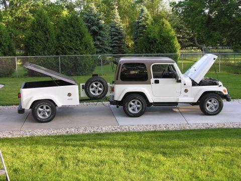 1997 Jeep Wrangler Sahara with Matching Trailer na prodej