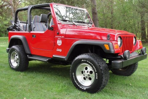 1997 Jeep Wrangler TJ na prodej