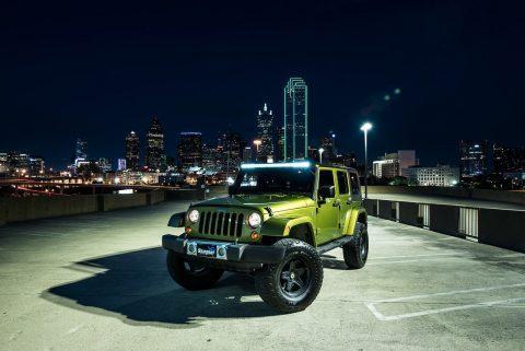 2008 Jeep Wrangler Unlimited SAHARA na prodej