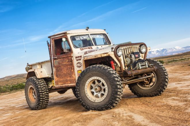 Jeep Wrangler Truck >> 1949 Jeep Willys Pickup Rock Crawler Jp Magazine's Wicked Willys na prodej