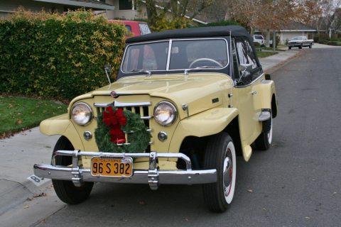 1950 Jeep Willys Jeepster na prodej