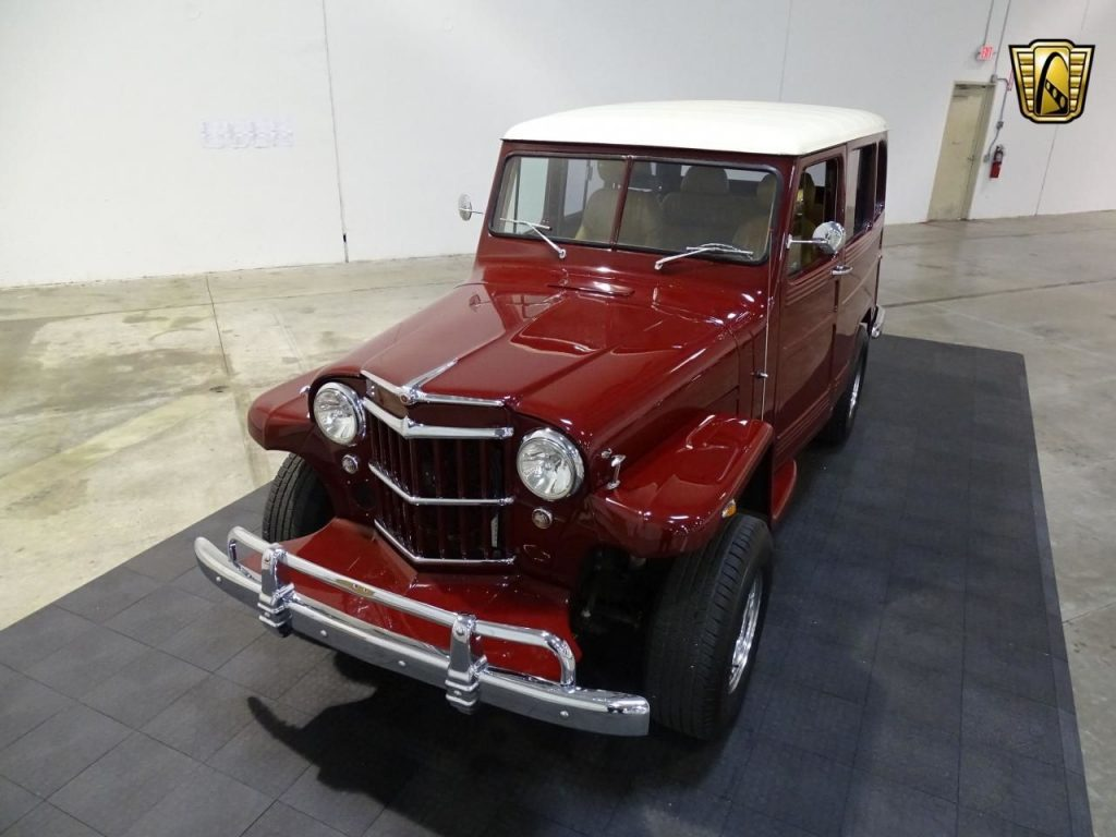1962 Willys Jeep V8 4-Speed Automatic