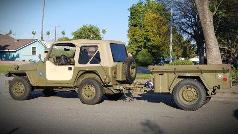 1997 Jeep Wrangler Se-custom Army na prodej