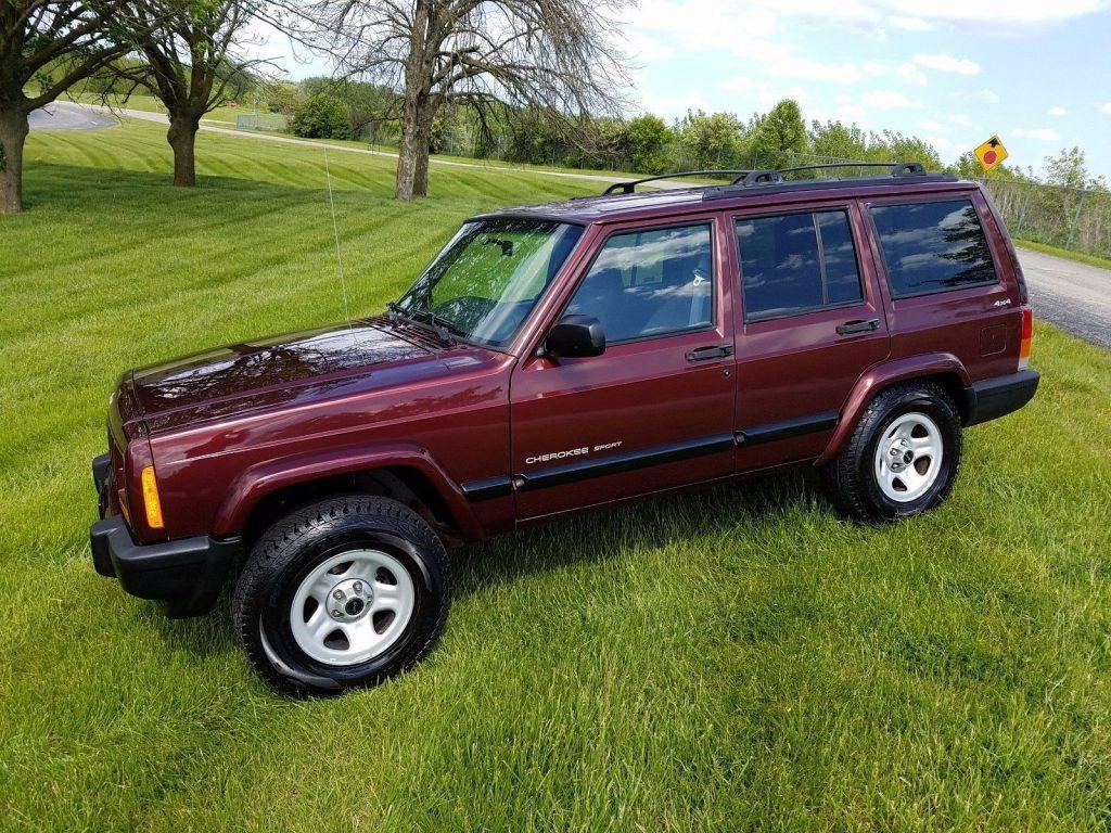 Jeep Xj Country >> 2000 Jeep Cherokee Sport na prodej