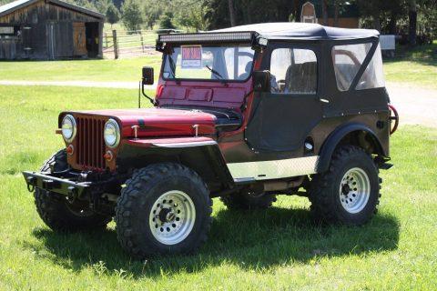 1948 Jeep CJ2 na prodej