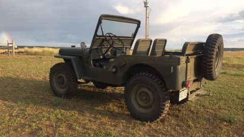 1948 Jeep Willys in excellent shape na prodej