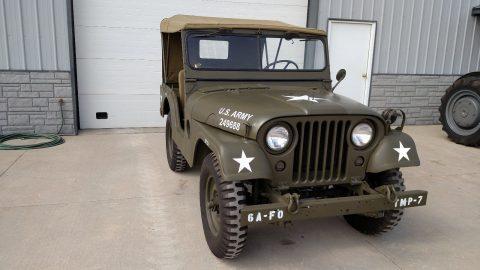1953 Willys Jeep army na prodej