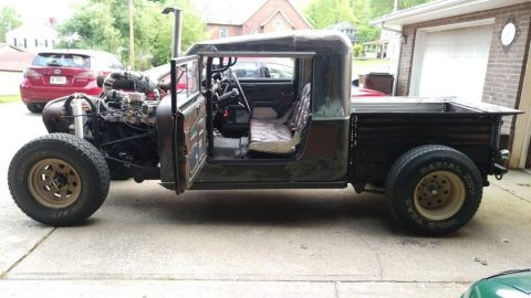 1978 Jeep CJ turbo Rat Rod/ Hot Rod Roadster na prodej