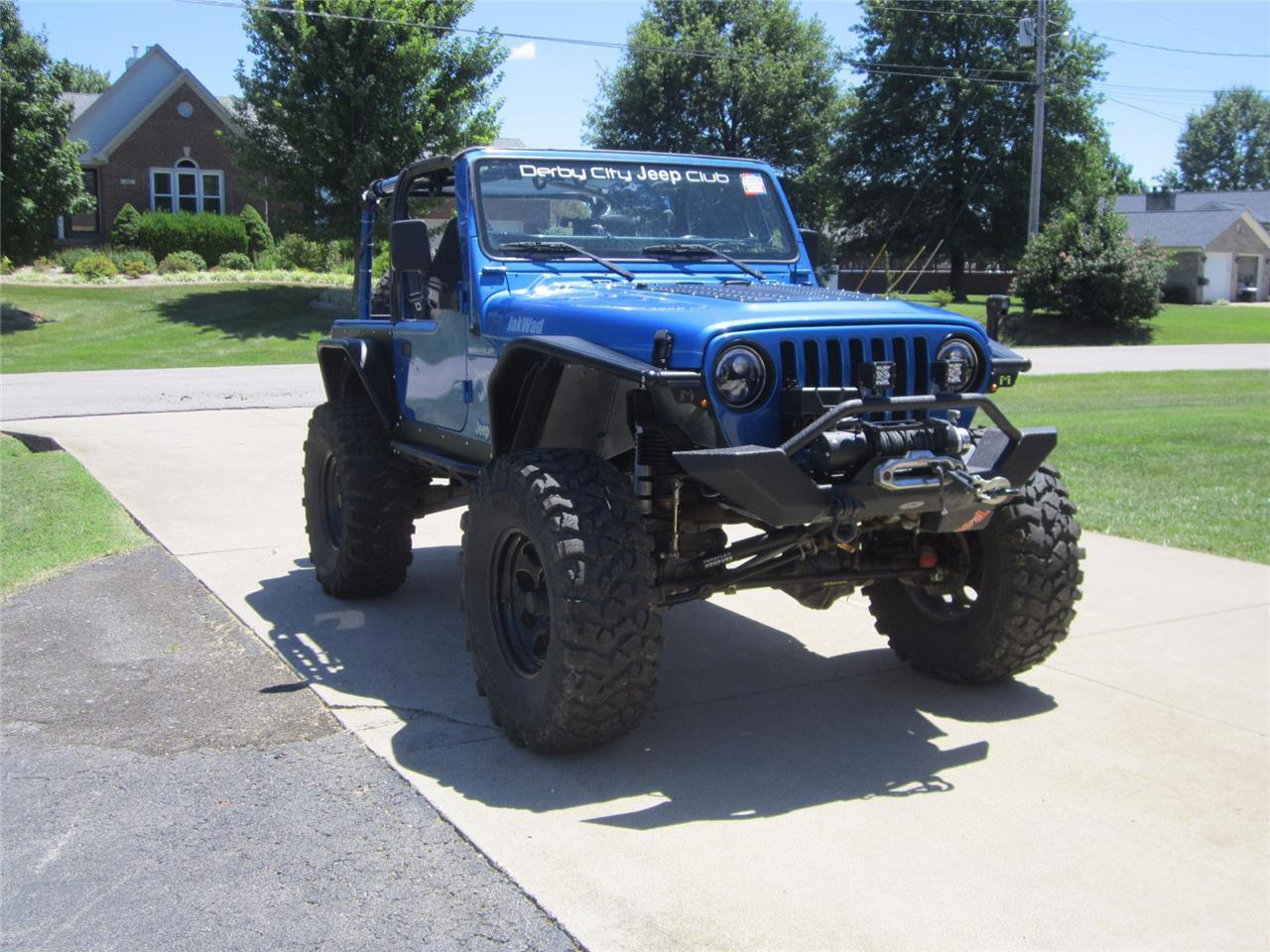 Best Tires For Jeep Wrangler >> 2002 Jeep Wrangler Offroad Ready – Heavily Modified Custom ...