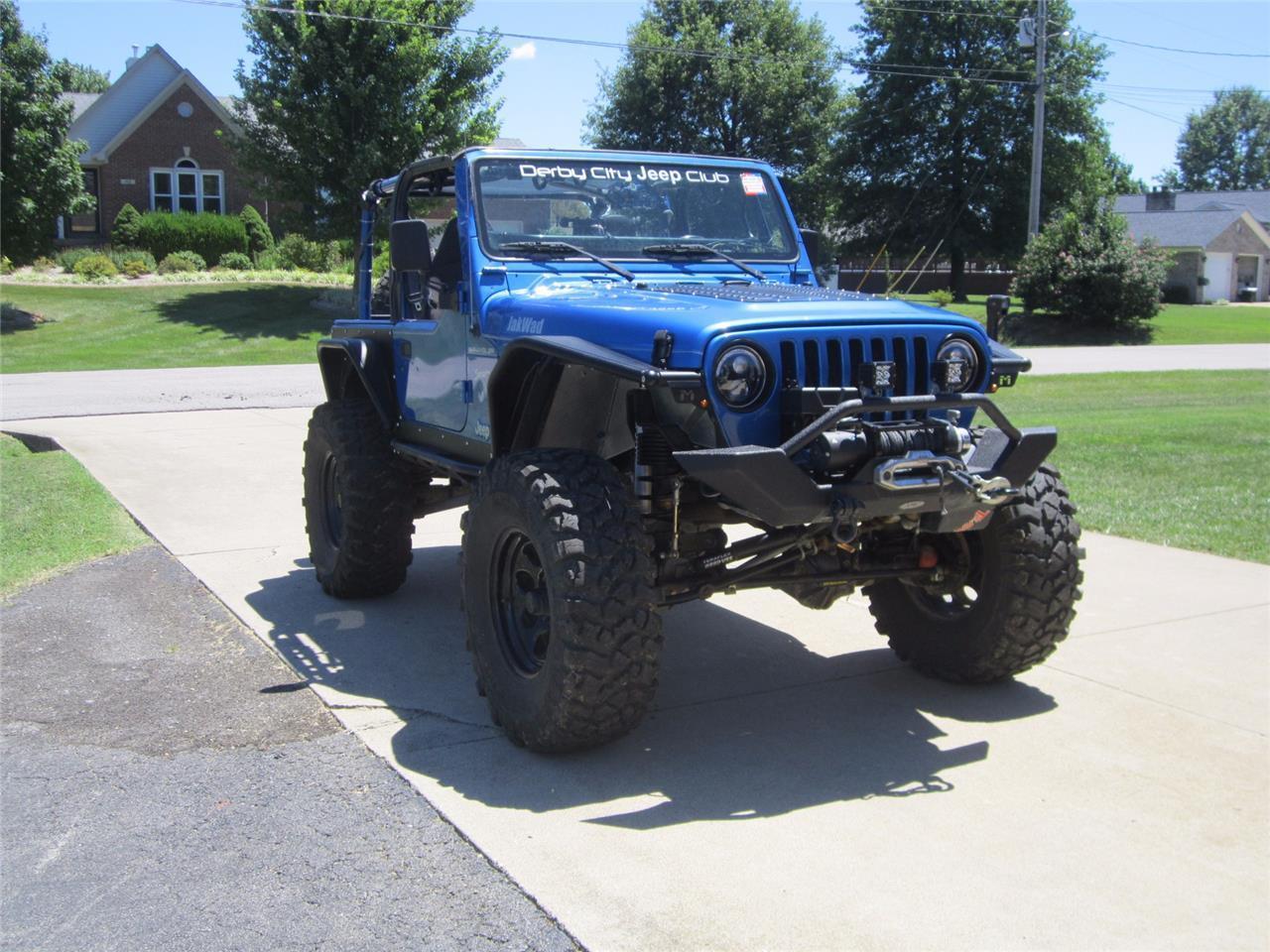 2002 Jeep Wrangler Offroad Ready Heavily Modified Custom