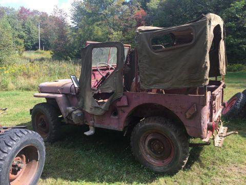 1946 Jeep Willys 439 na prodej