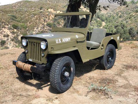 1948 Jeep Willys CJ28 na prodej