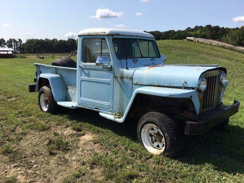 1949 Jeep Willys na prodej