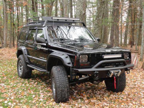 2001 Jeep Cherokee Sport na prodej