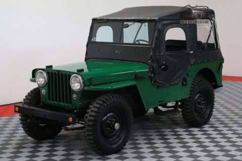 1948 Jeep JEEP Frame OFF Restoration Collector GRADE na prodej