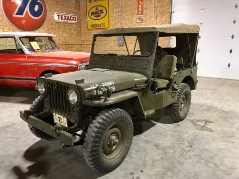 1951 Willys MC38 4×4 army Jeep na prodej