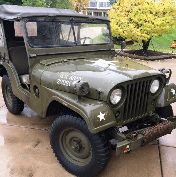 1952 Willys na prodej