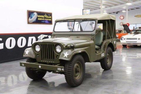 1954 Willys Jeep M38-A1 real deal Army Jeep na prodej