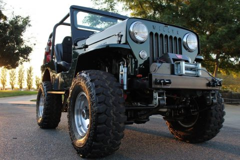 1955 Jeep Willys CJ3B Rock Crawler Off Road four wheel drive 4wheel na prodej