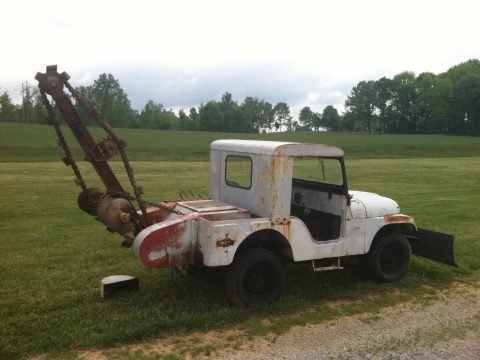 1957 Jeep Willys CJ 3 Jeep a Trench na prodej