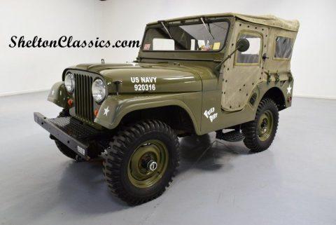 1960 Willys CJ5 Jeep na prodej
