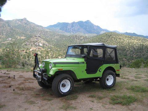 1970 Jeep CJ Renegade V6 na prodej