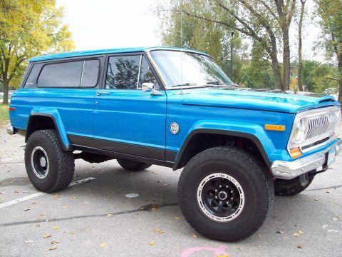 1977 Jeep Cherokee Sport na prodej