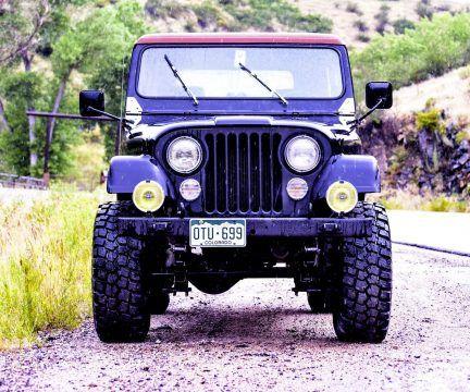 1980 Jeep CJ 7 na prodej